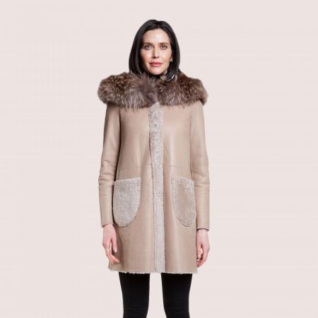 Vivienne Reversible Shearling Coat