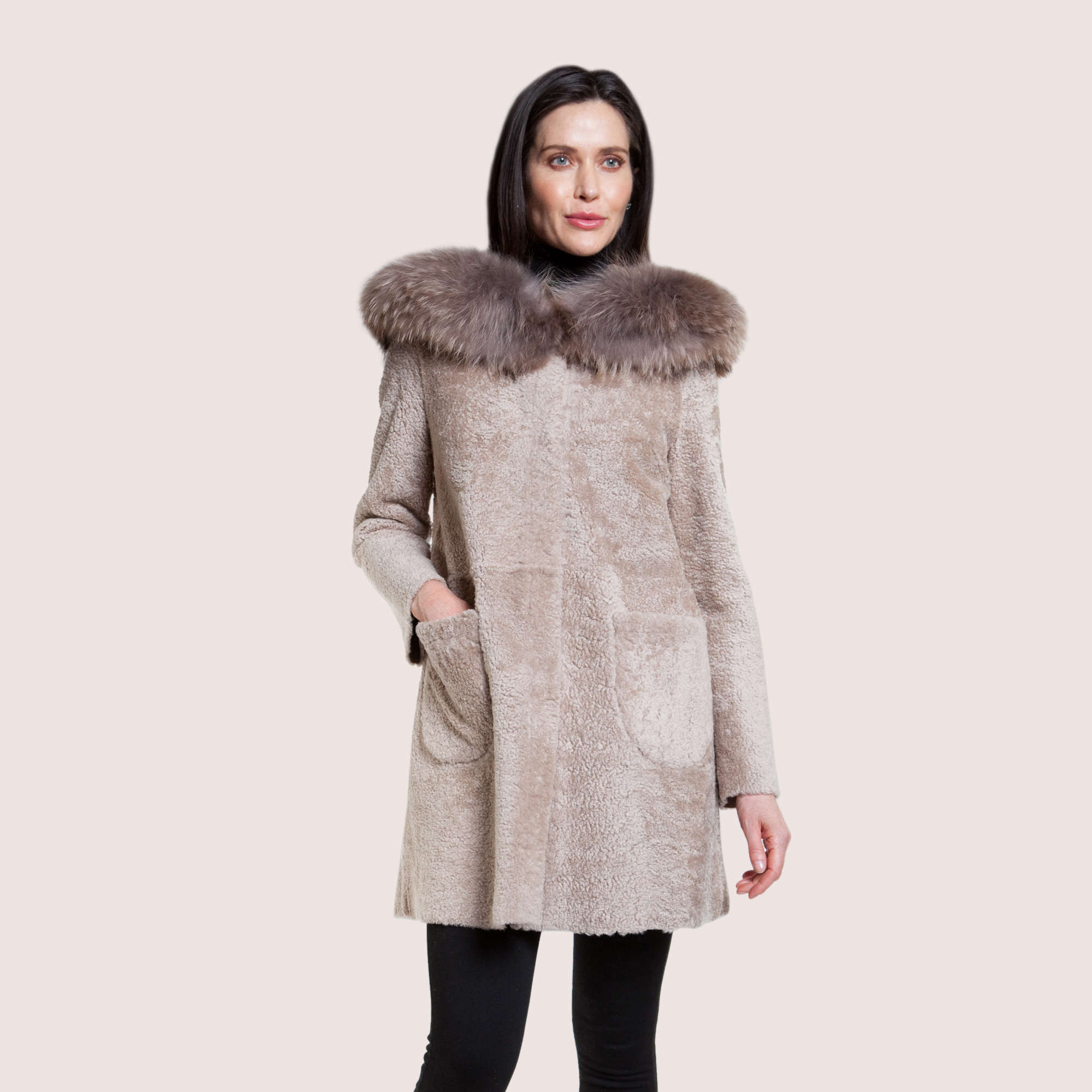 Vivienne Reversible Shearling Coat