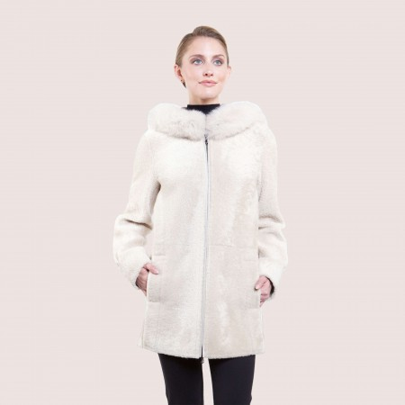Amanda Shearling Coat