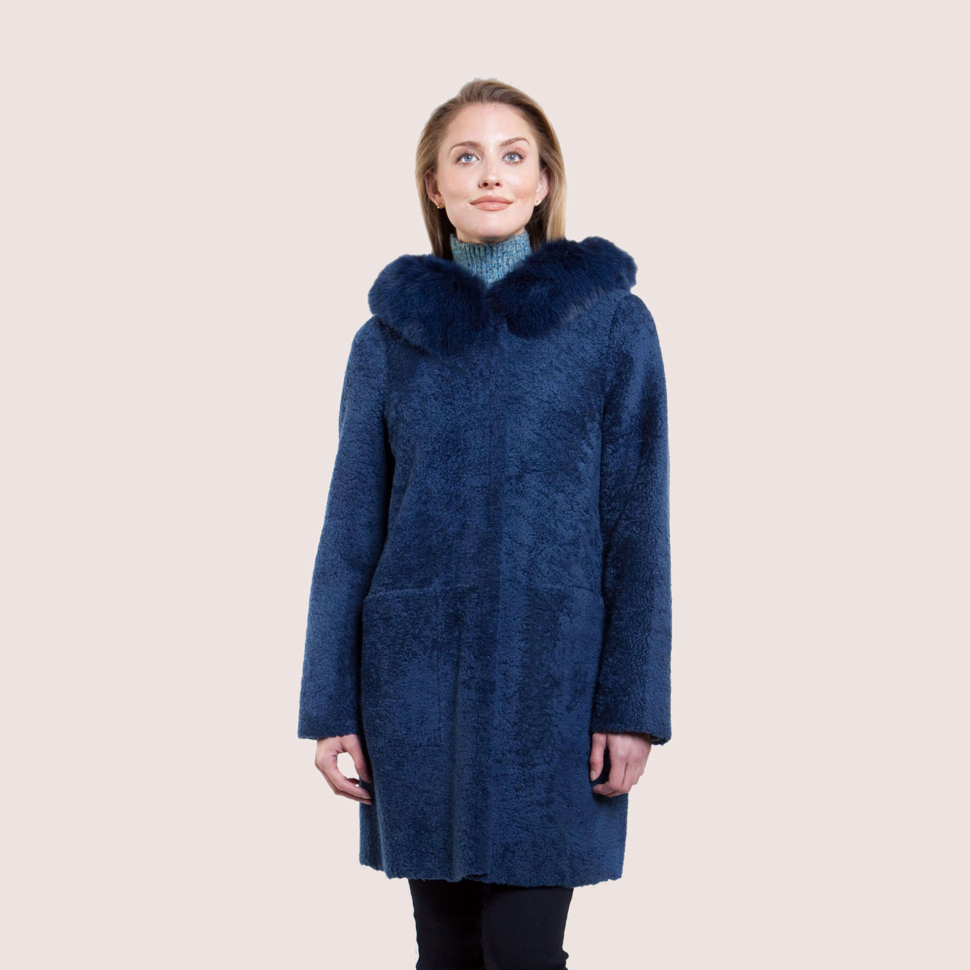 Elisa Reversible Shearling Coat