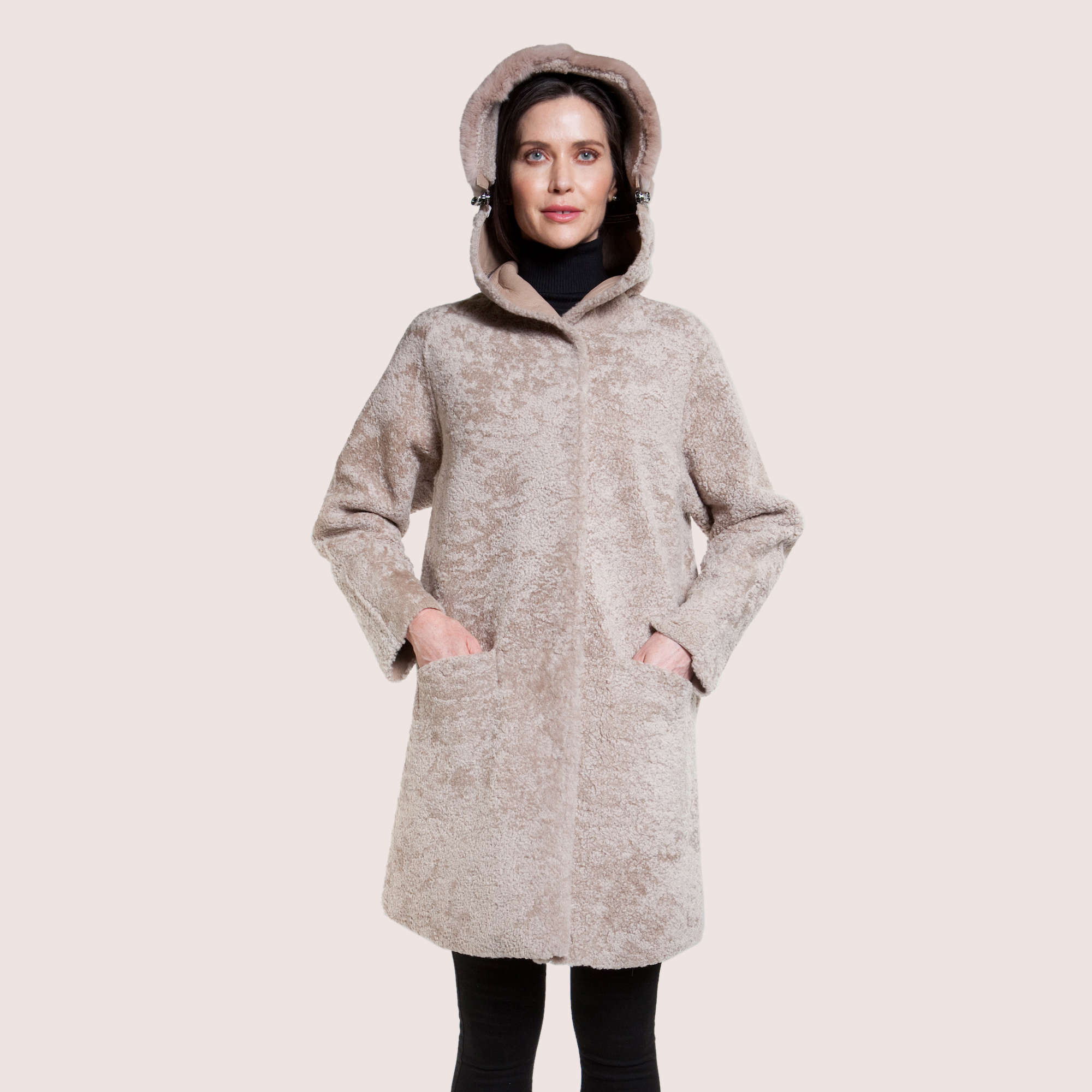 Claudia Shearling Coat