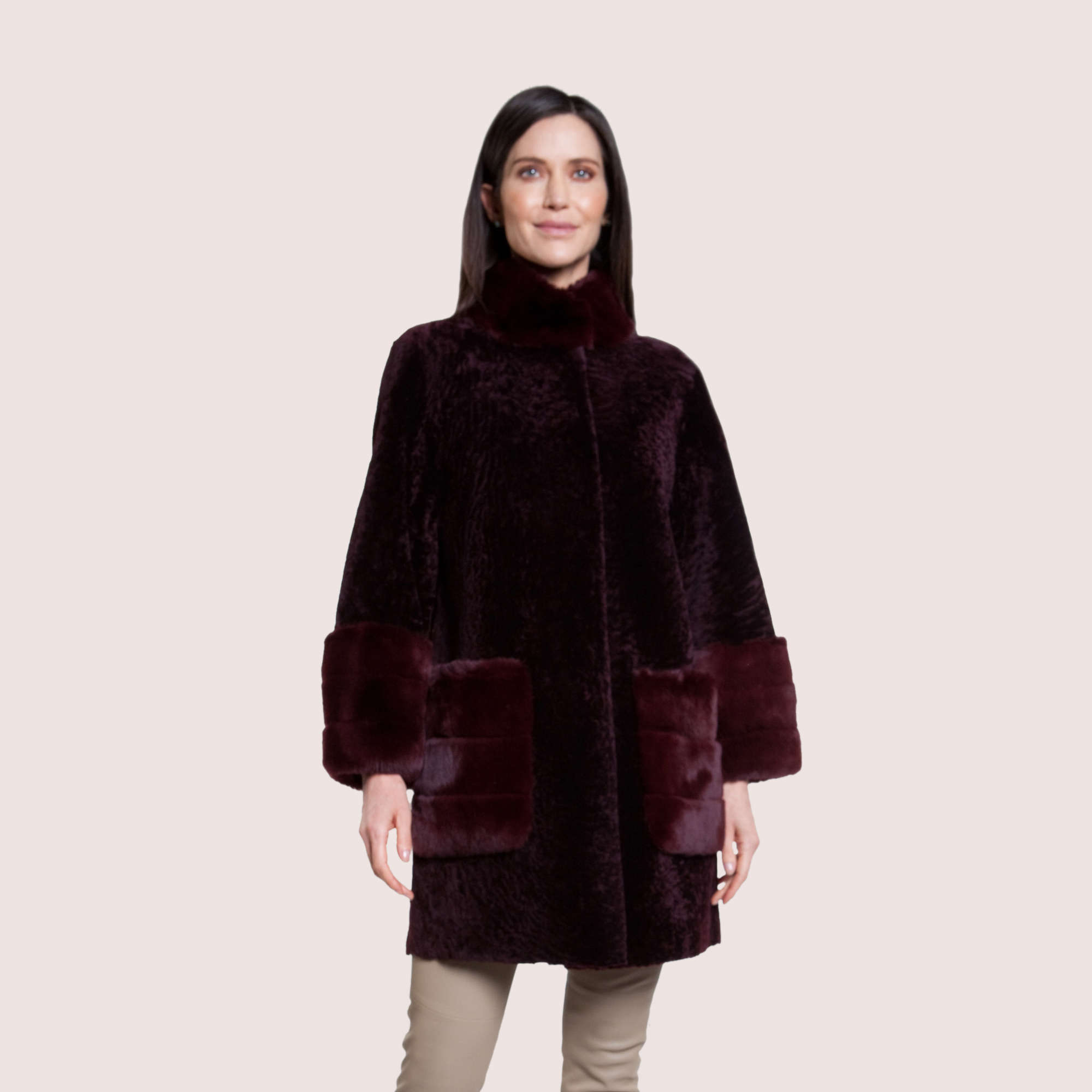 Whitney Reversible Shearling Coat
