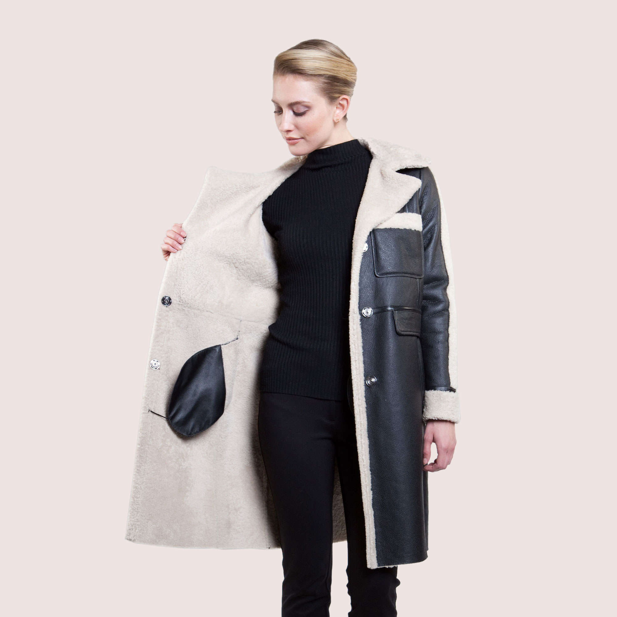 Florence Shearling Coat