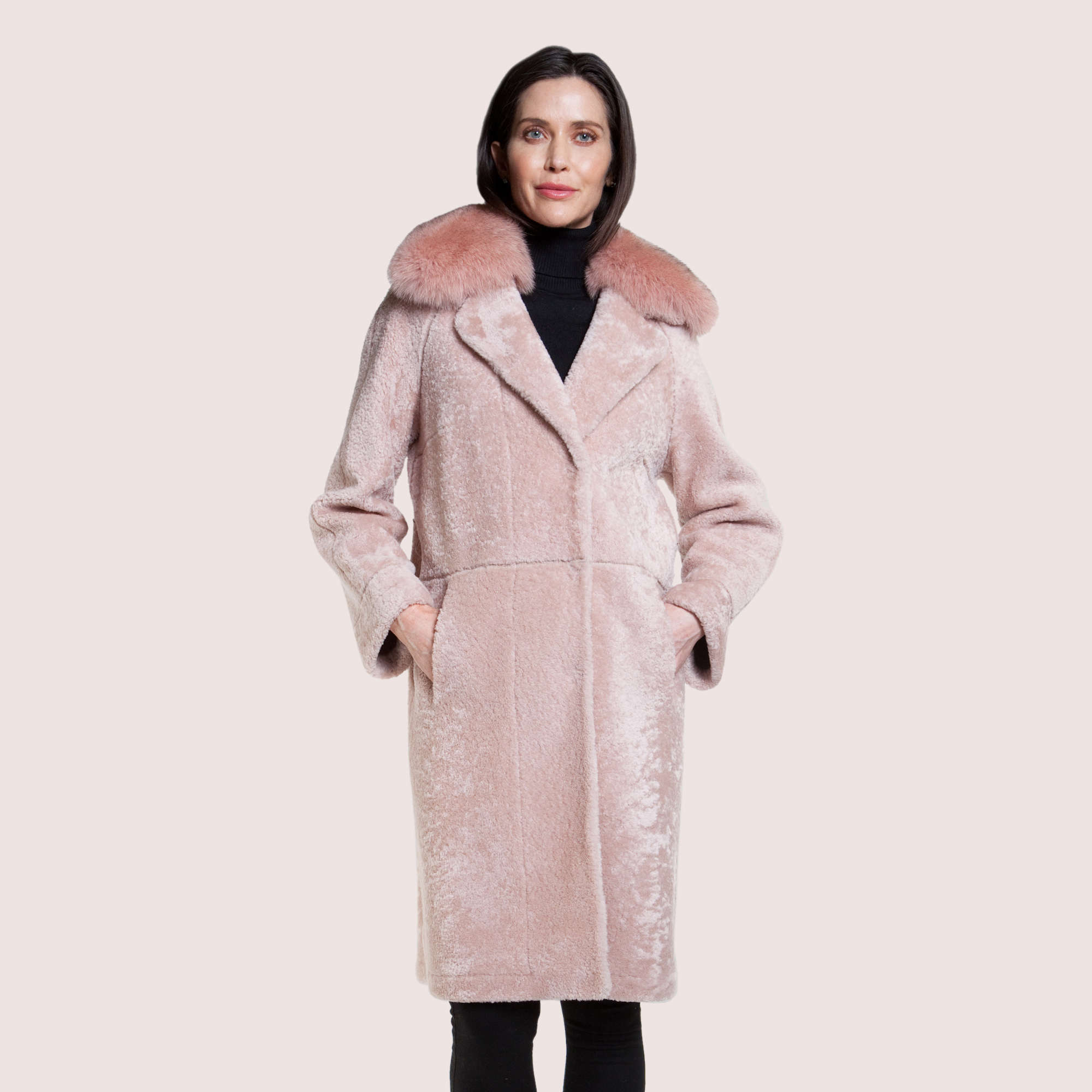 Harper Shearling Coat