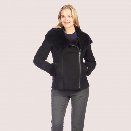 Valerie Shearling Coat