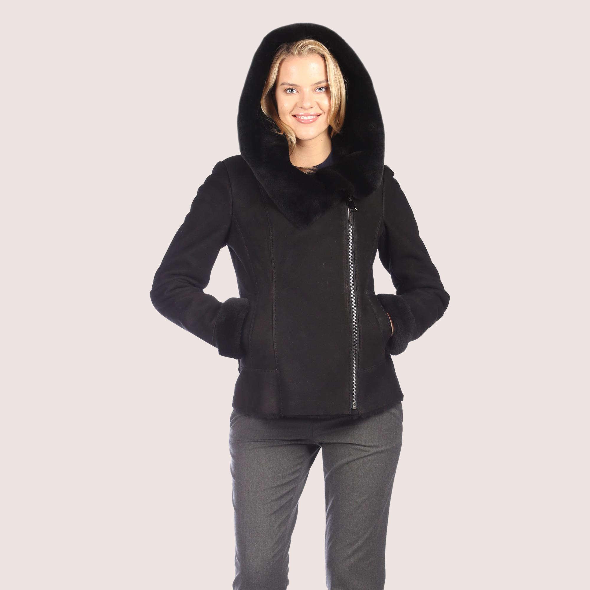 Valerie Shearling Coat