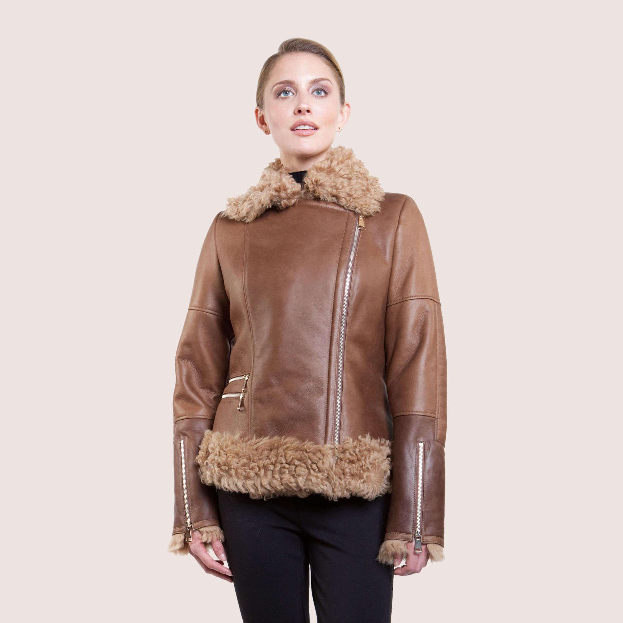 Grace Shearling Jacket