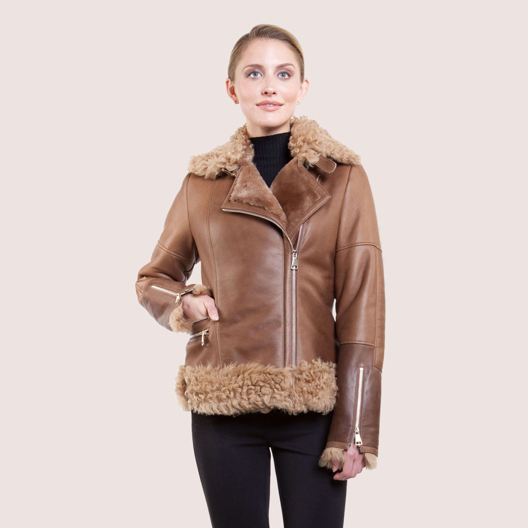 Grace Shearling Jacket