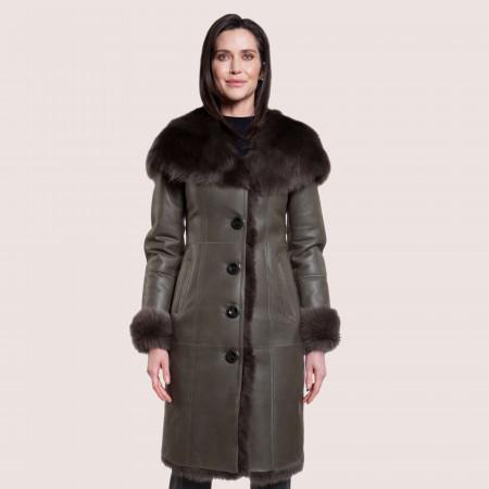 Ella Shearling Coat