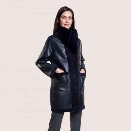 Doris Reversible Shearling Coat