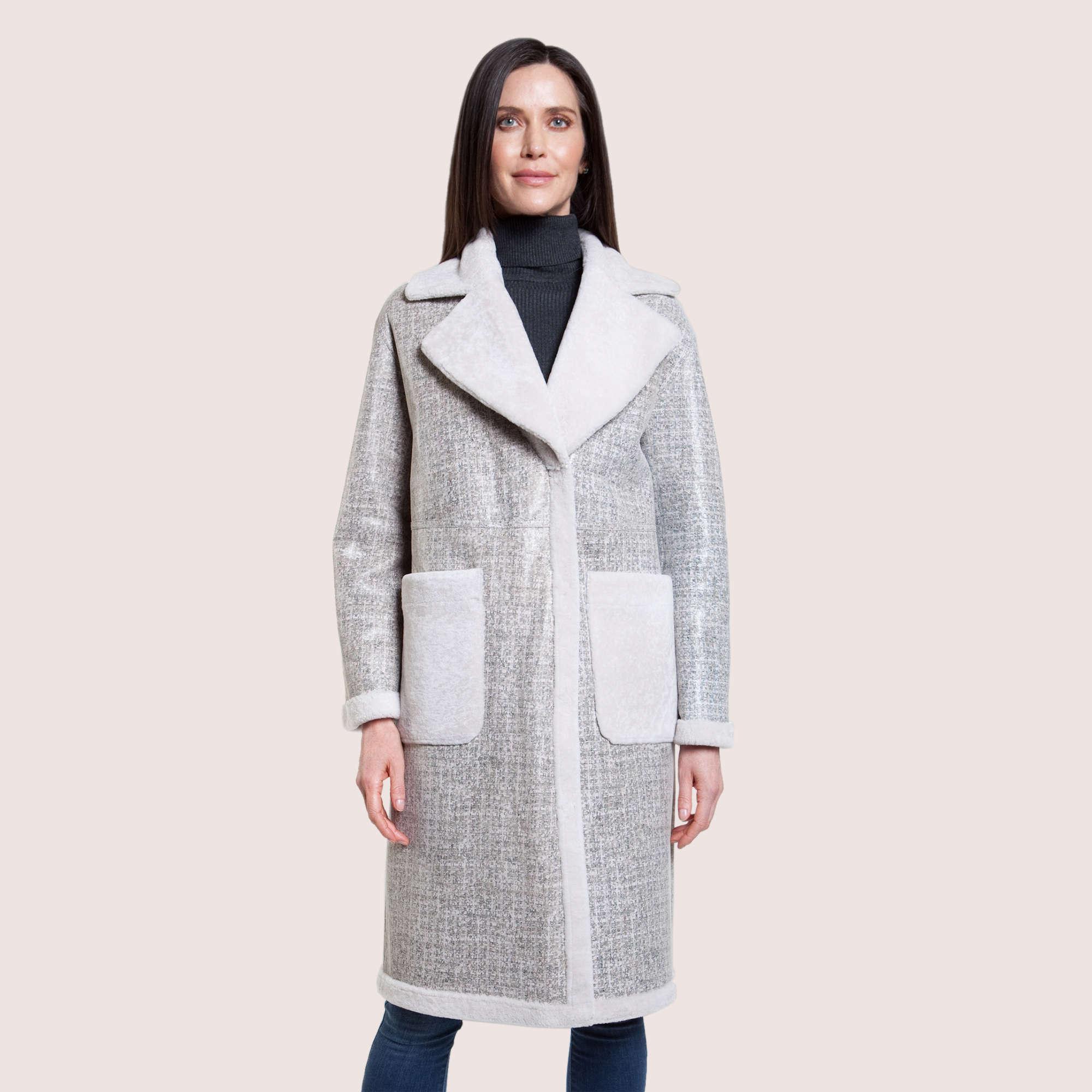 Alexandra Reversible Shearling Coat