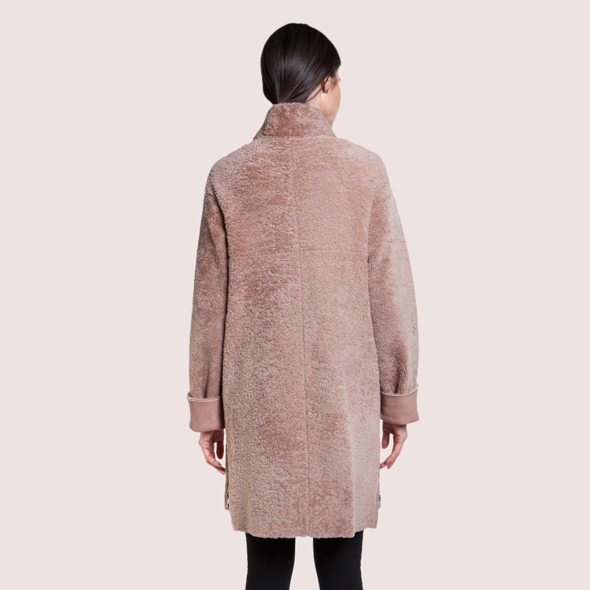 Trinity Reversible Shearling Coat