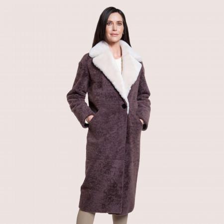 Elise Shearling Coat