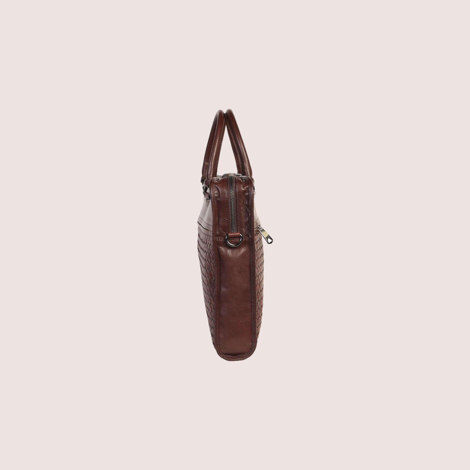 Anderson Hand Woven Briefcase