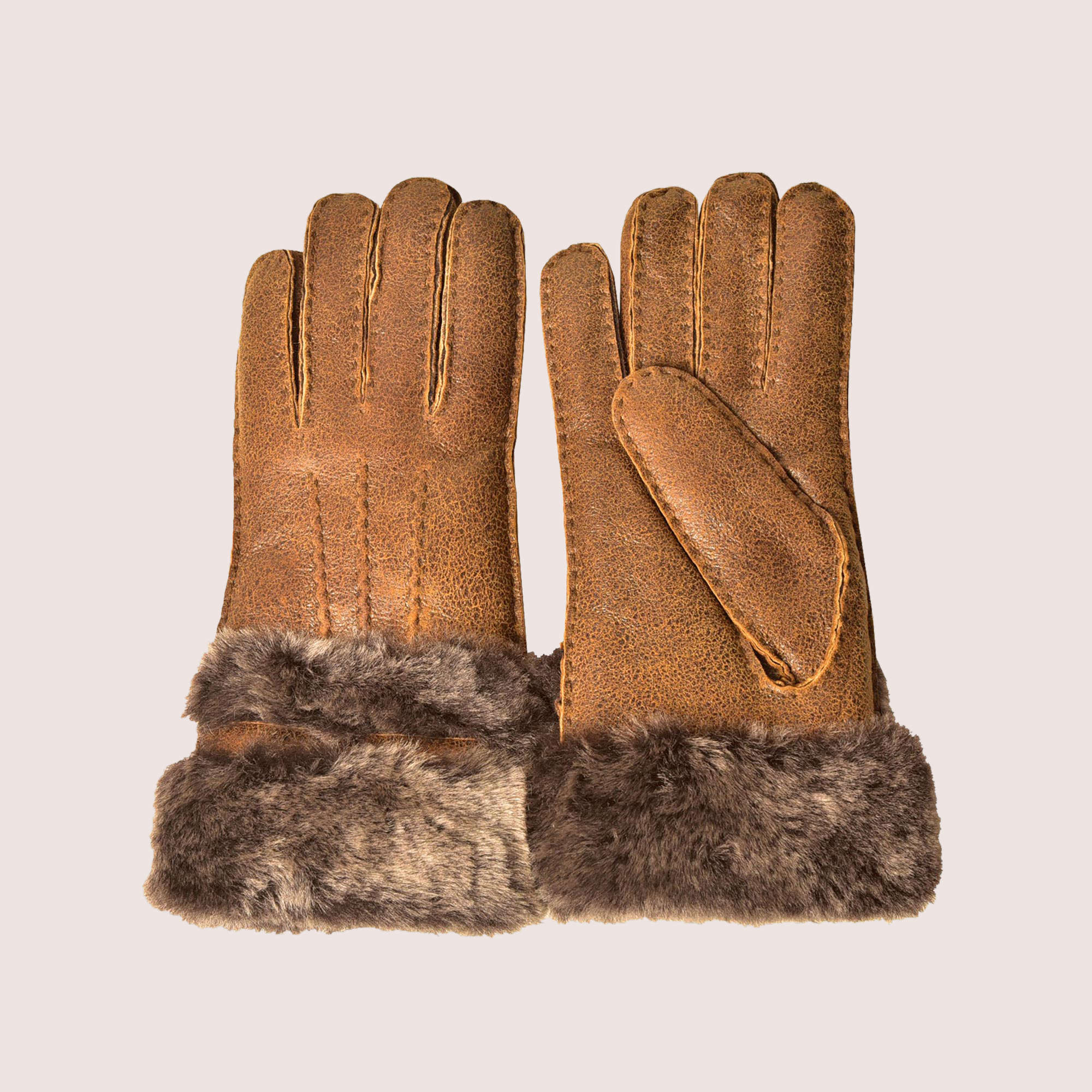 Lizzy Hand-Stitched Shearing Gloves