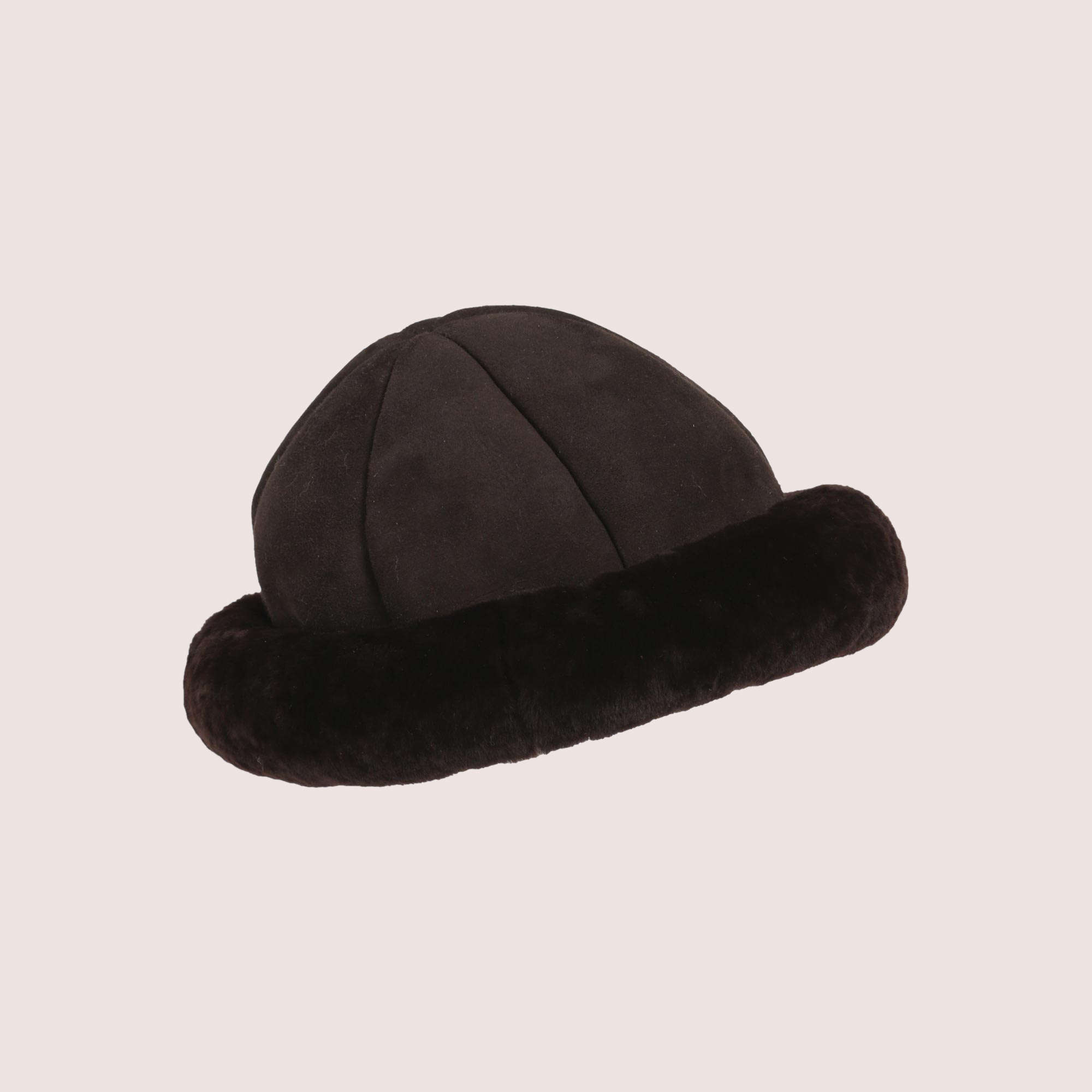 Aspen Shearling Round Hat