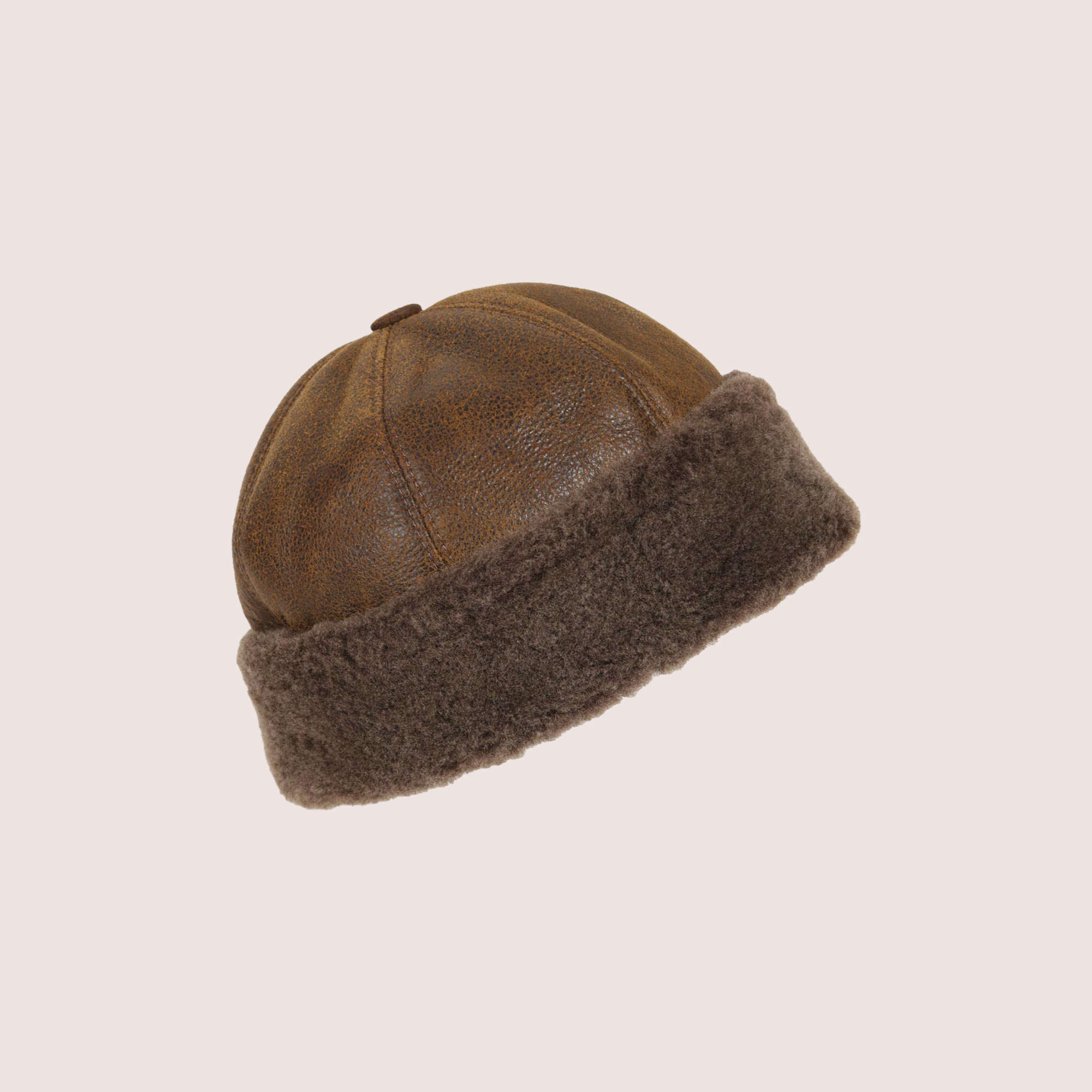Northice Sheepskin Rounded Hat