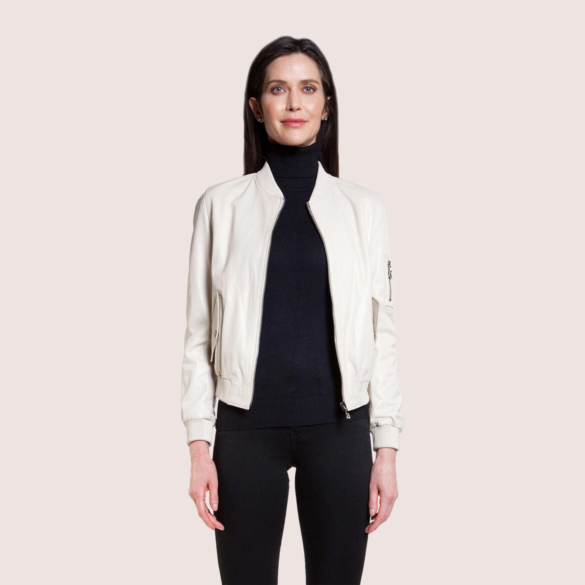 Daniela Lambskin Jacket