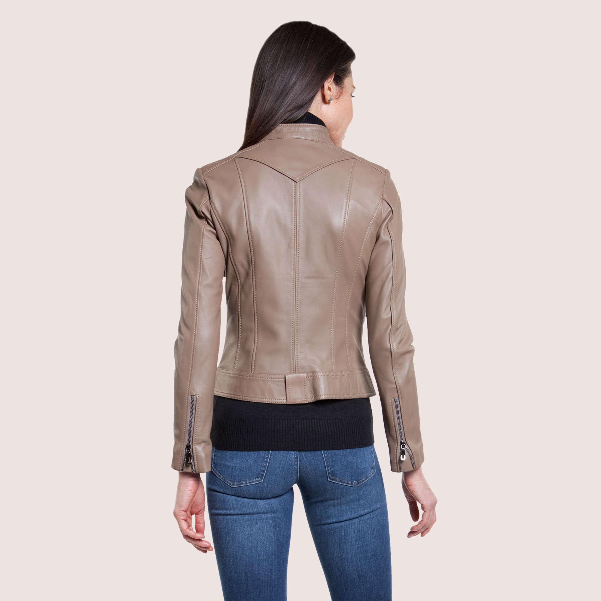 Lola Lambskin Jacket