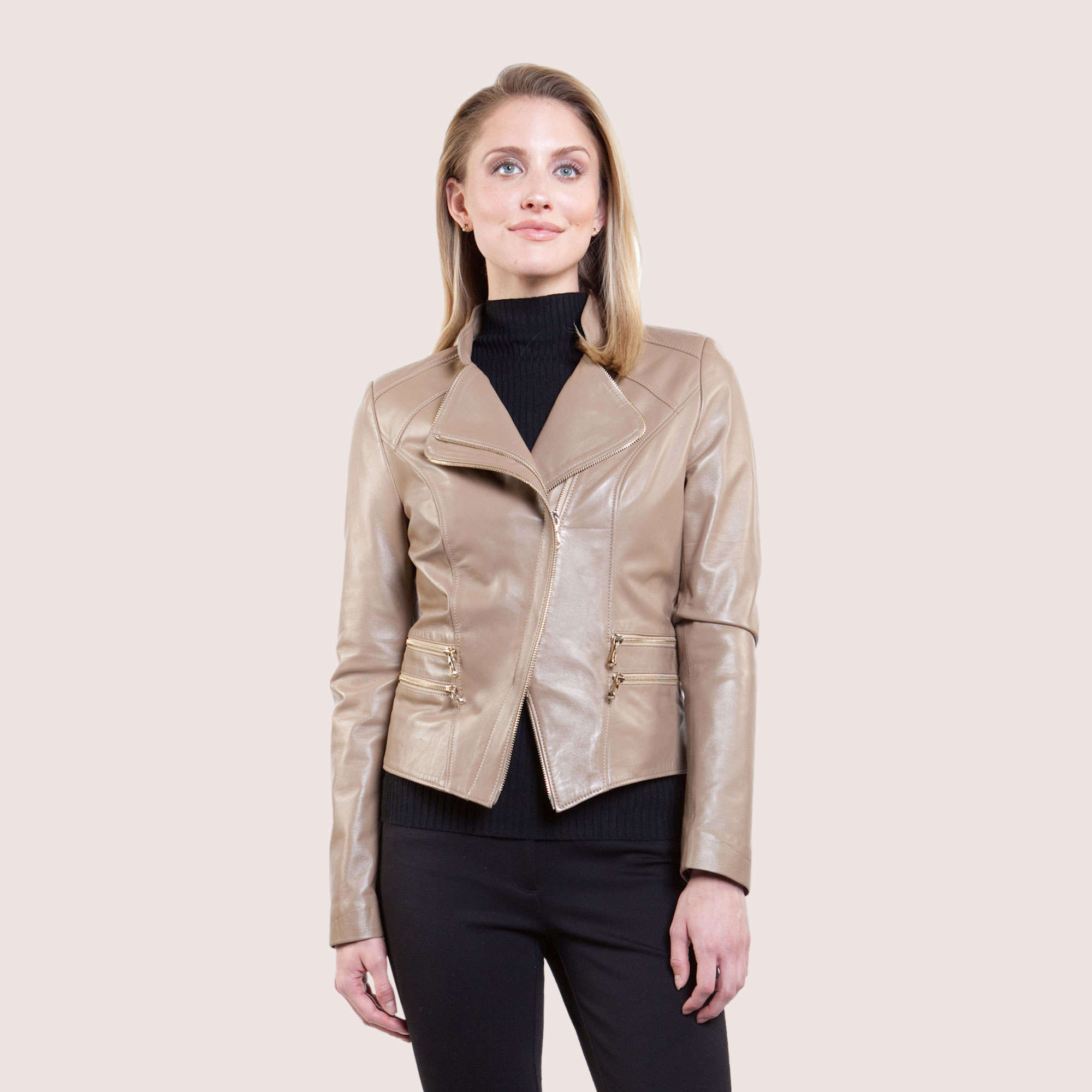 Helen Lambskin Jacket