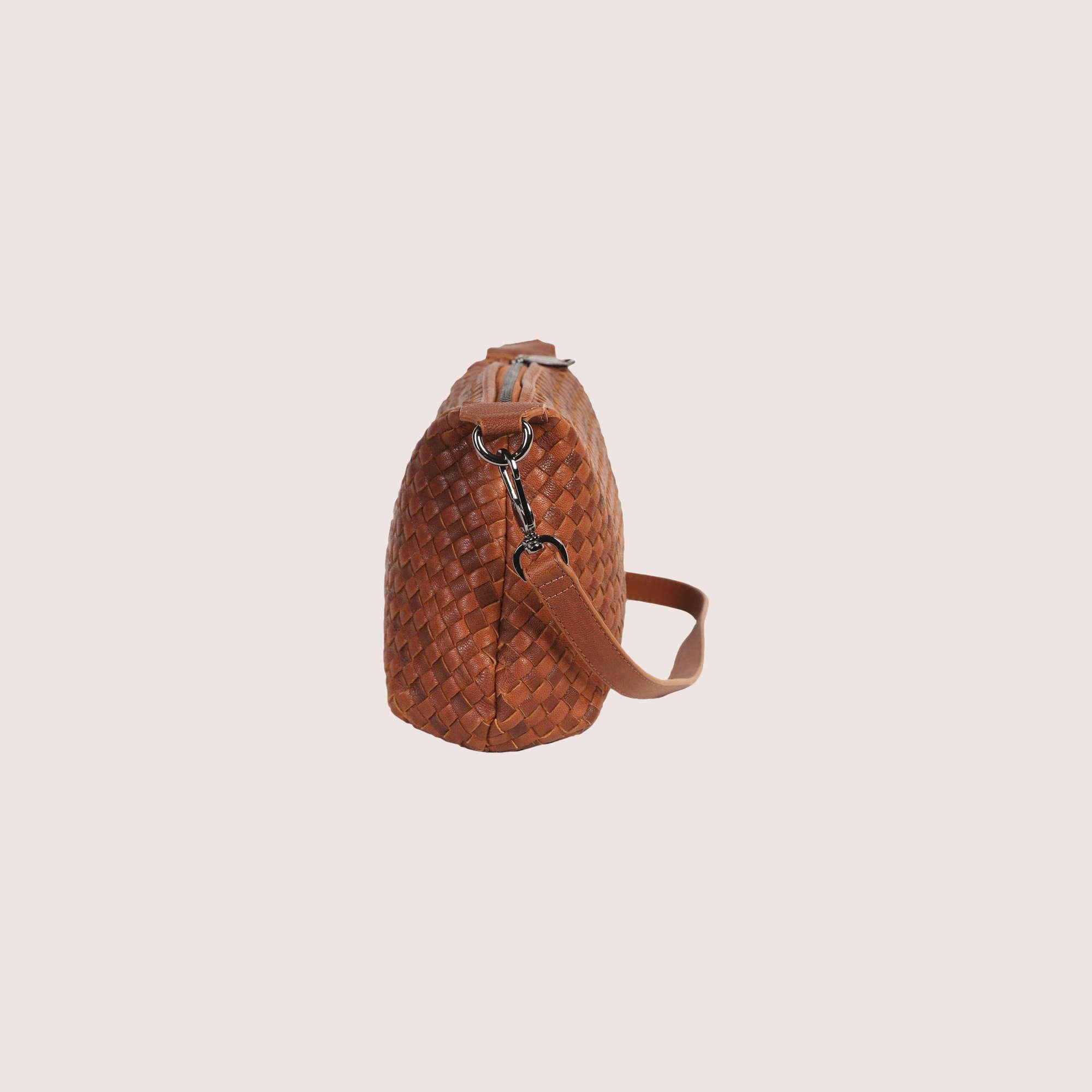 Karen Woven Shoulder Bag