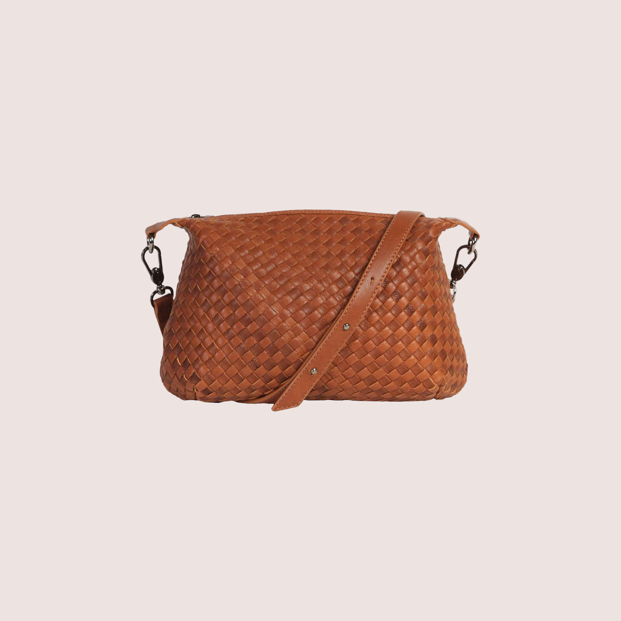 Karen Woven Shoulder Bag