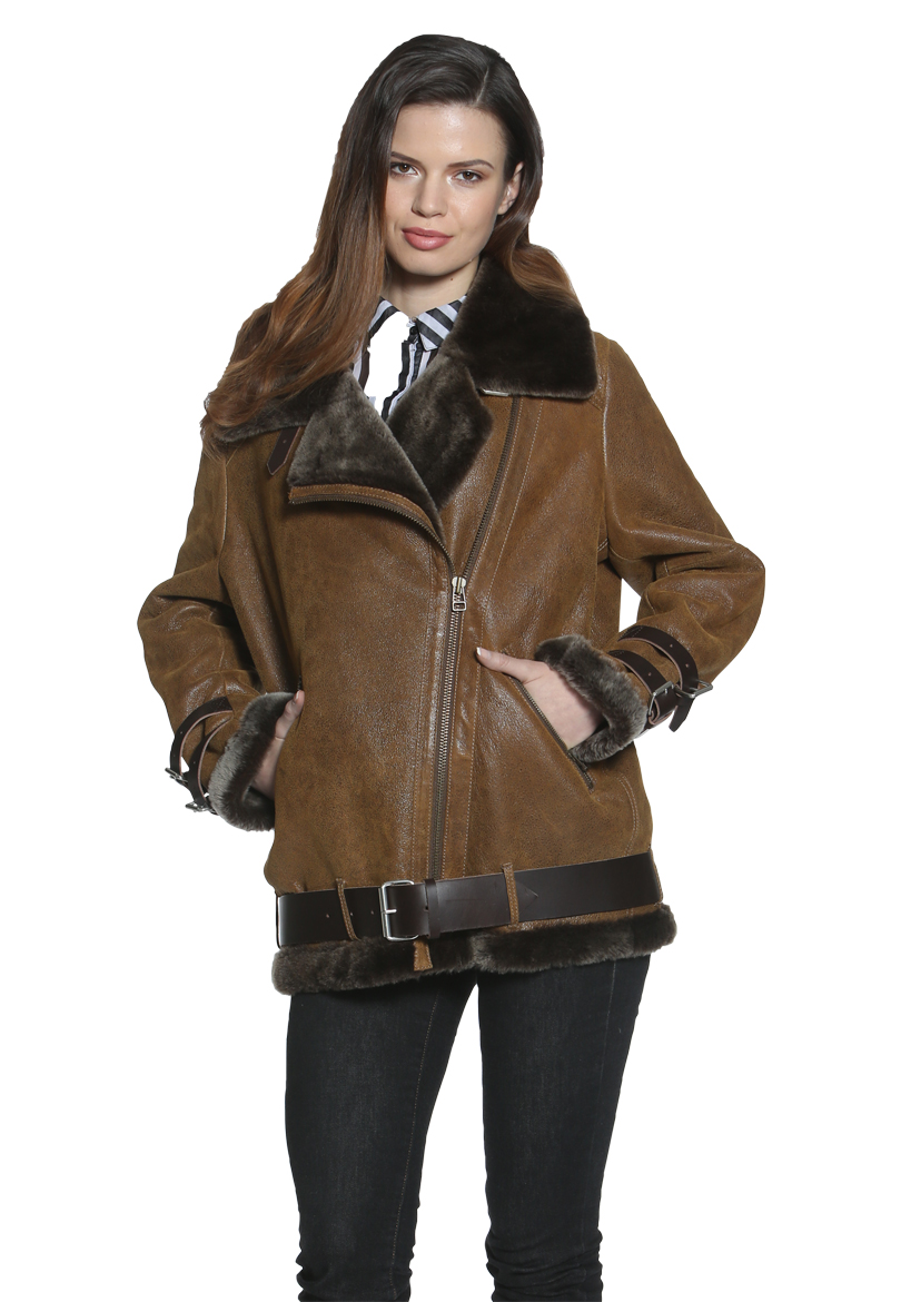 Shearling Coats and Shearling Jackets by AstonLeather